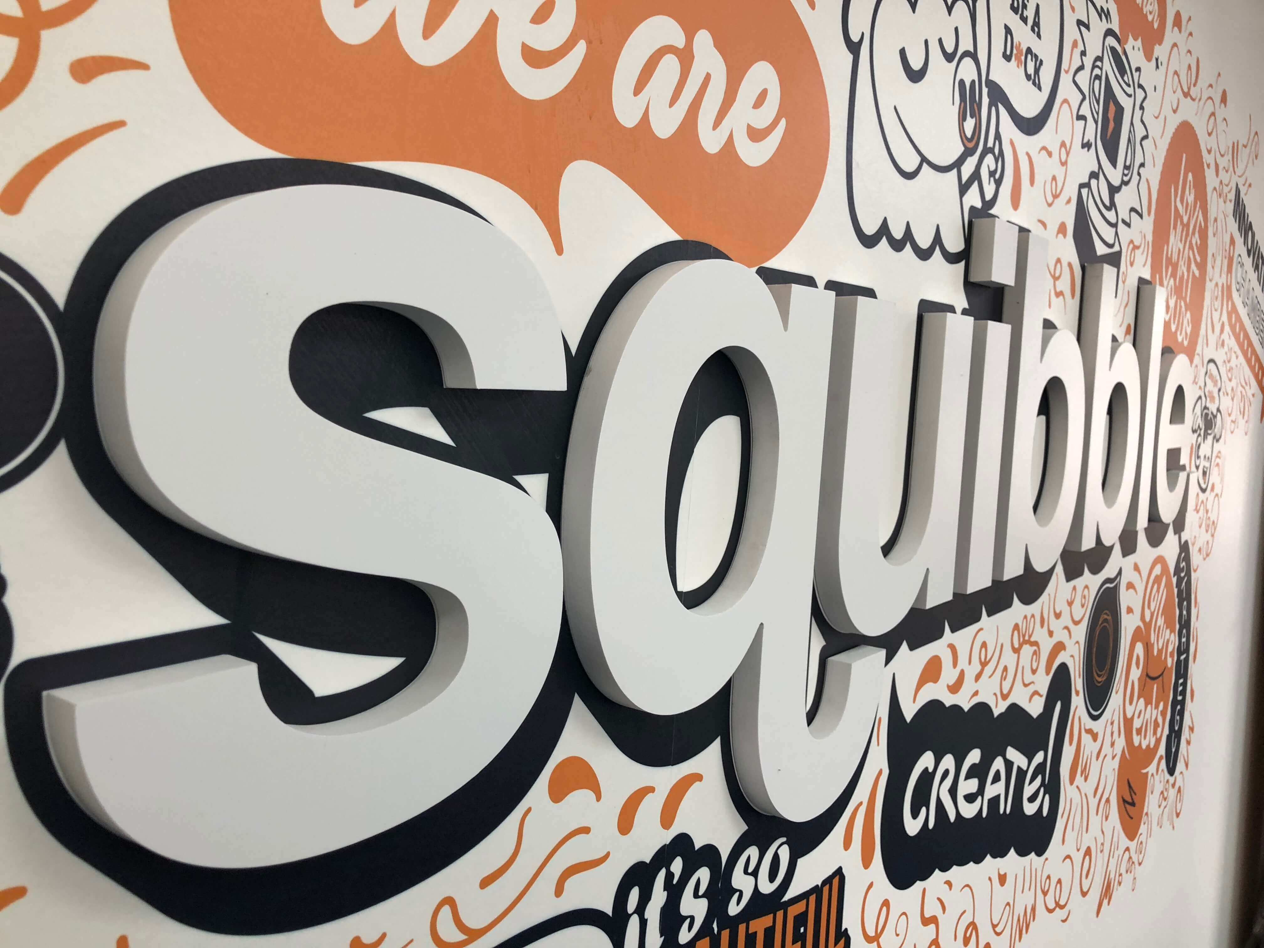 Squibble Wall Art