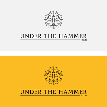 Under the hammer logo designs